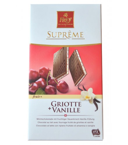 Suprême fruta + Cereza + vainilla 100g