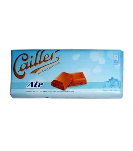 Aerated milk chocolate