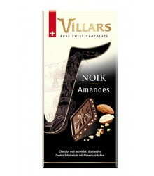 Dark with whole almonds