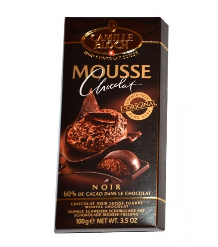Mousse dark chocolate 100g, made by Camille Bloch - chocolate from ...