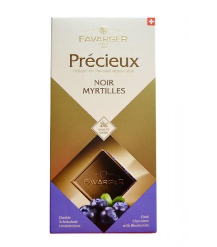 Précieux - Chocolat Noir myrtilles 100g