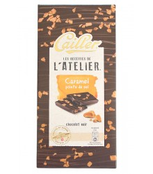 Black chocoalte - Caramel salt point 115g