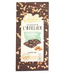 Chocolat Noir – Amandes grillées 115g