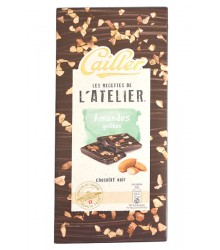 Dark Chocolate - Toasted almonds 115g