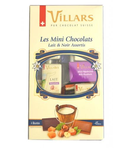Les Mini chocolats Lait et Noir 250g