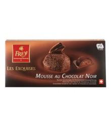 Les exquises mousse de chocolate negro 100g