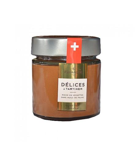 Crema de avellana y chocolate para untar 220g