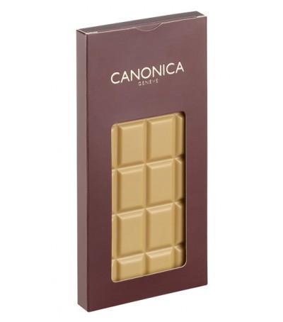 Barra de degustación de chocolate rubio 36% 80g