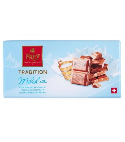 Chocolat au lait extra-fin 100g
