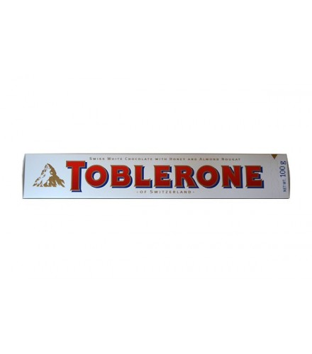 Toblerone White Chocolate 100g Made By Toblerone Chocolate From