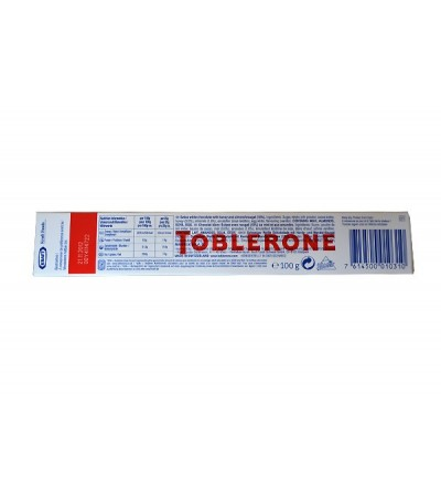 Toblerone, White chocolate