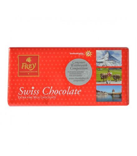 Extra fine milk chocolate