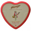 Heart chocolate box 150g