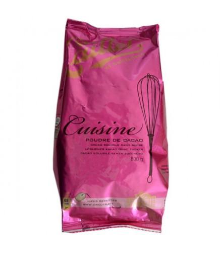 Cuisine - chocolat en poudre sans sucre