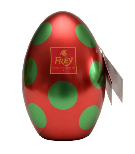 Metal red Egg
