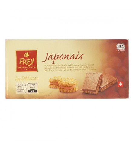 Les D 233 Lices Japonais 100g Made By Frey Chocolate From